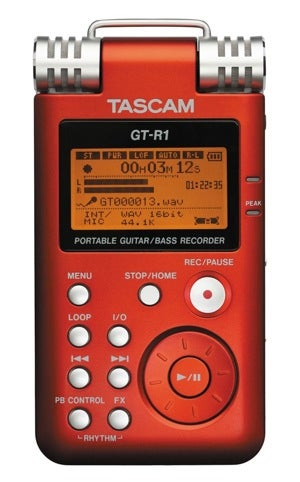 Illustration for article titled Tascam GT-R1 Guitar Recorder Lets You Capture Those Brilliant Solos