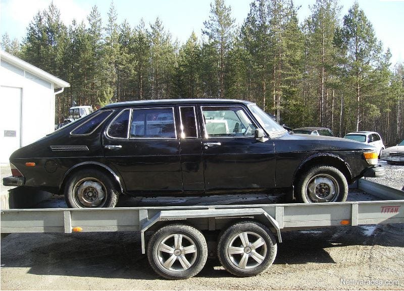 Illustration for article titled Saab 99 Finlandia limousine