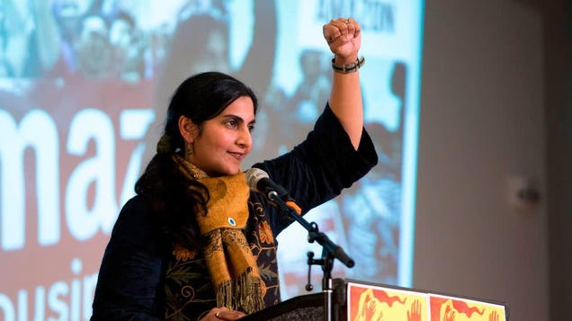 Amazon Will Pay Taxes in Seattle If It s the Last Thing Kshama Sawant Does