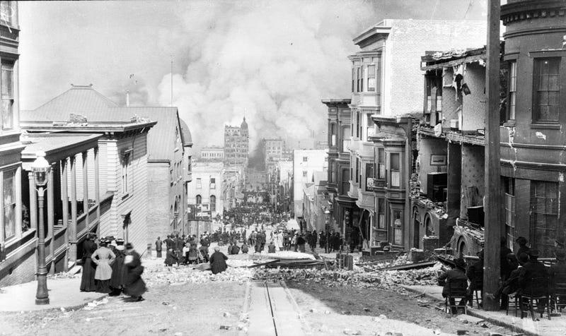 Terremoto de San Francisco. Wikimedia Commons