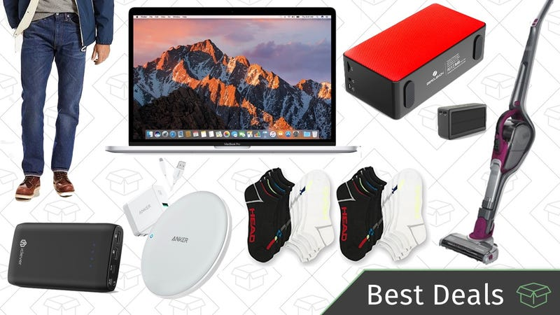 Illustration for article titled Thursday's Best Deals: MacBook Pro, Qi Charging Pads, NCAA Tournament Streaming, and More