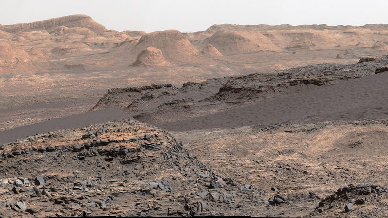 The landscape of Mars photographed by a robotic rover exploring Gale Crater. Looks just like Arizona. (Photo: Universal History Archive/ UIG via Getty Images)
