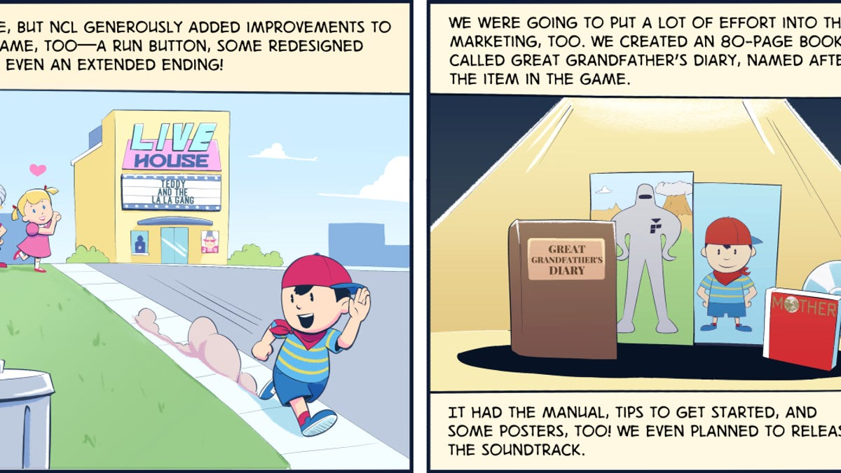 Comic History: Why The First EarthBound Wasn't Released Outside Japan