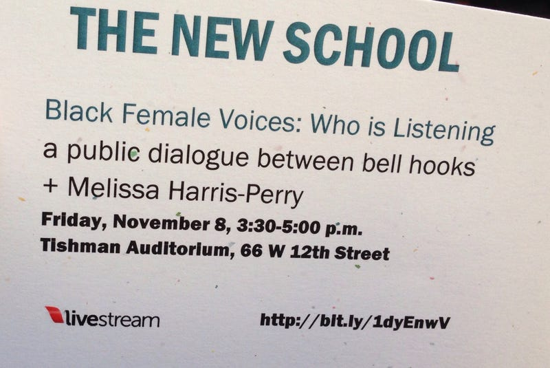 Illustration for article titled bell hooks talk: auditorium is at capacity