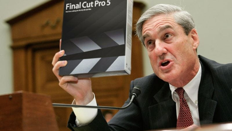 FBI head Mueller says some of the laser beams may have been added in post.