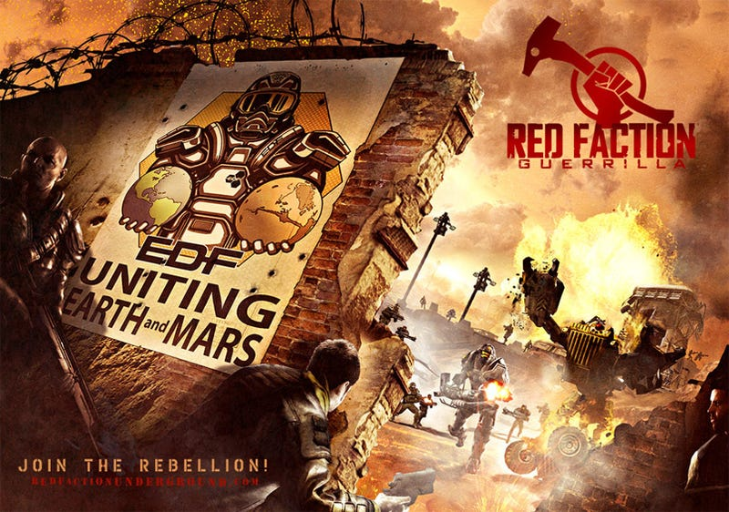 Illustration for article titled Frankenreview: Red Faction: Guerrilla