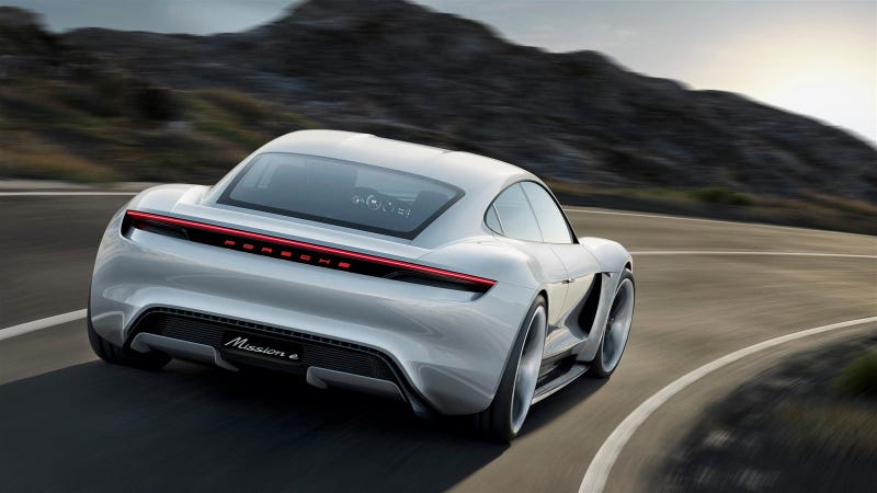 Illustration for article titled Porsche Won't Offer Free Fast Charging For Its Mission E Owners