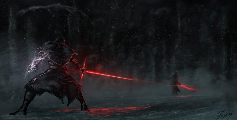 Illustration for article titled Los mejores pósters de Star Wars: Episodio VII están hechos por fans