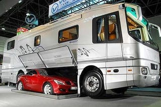Poor Madoff Scandal Rich Victims Pity Them Because Now It S Their Time To Scale Back A Trailer Park Probably In This Luxury Caravan With Its Own