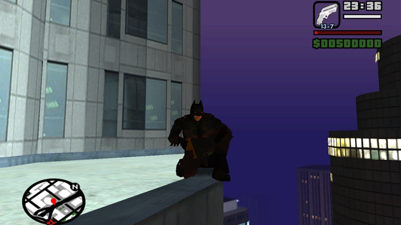 Want to Turn San Andreas Into Your Own Private Gotham? There's a Mod