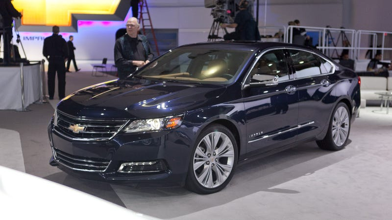 Illustration for article titled 2014 Chevy Impala: Live Photos