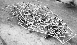 Illustration for article titled The Porsche 917 Chassis Looks Like The Best Jungle Gym Ever