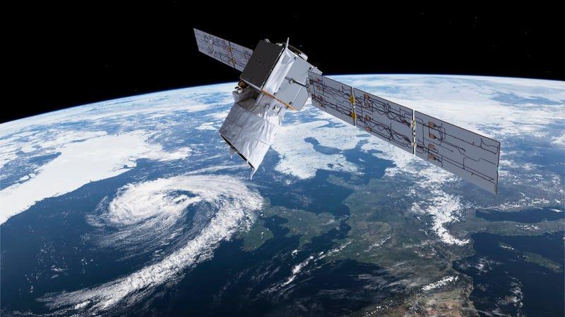 El satélite Aeolus estudia los vientos de la Tierra desde el espacio