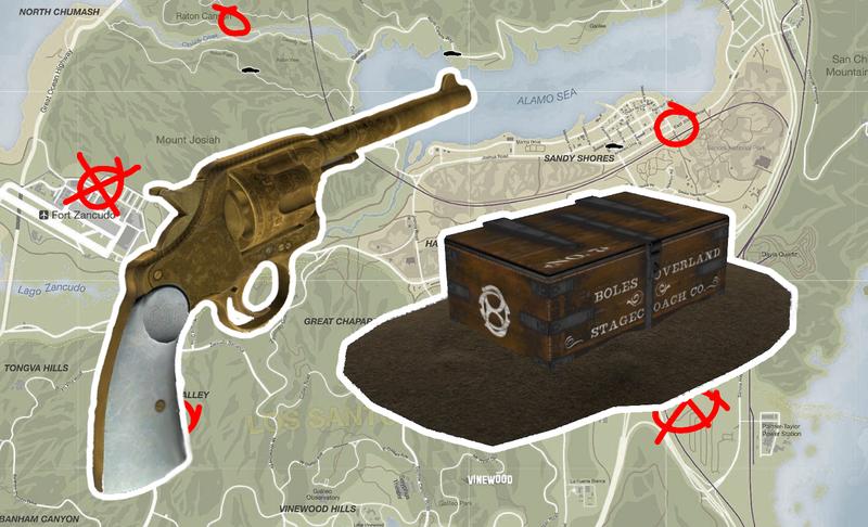 gta 5 unlocks for red dead