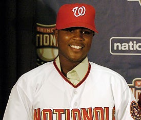 Illustration for article titled Nationals' Prize Prospect Is At That Awkward Age