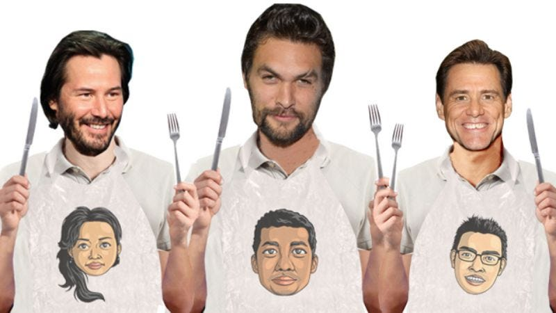 Illustration for article titled Keanu Reeves, Jim Carrey, and Jason Momoa join Ana Lily Amirpour's artsy cannibal flick