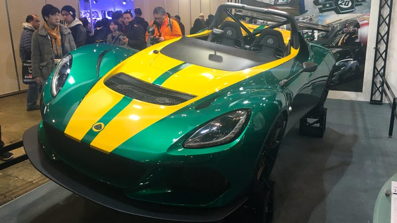 Illustration for article titled Lotus Has The Best Livery At Tokyo Auto Salon 2017