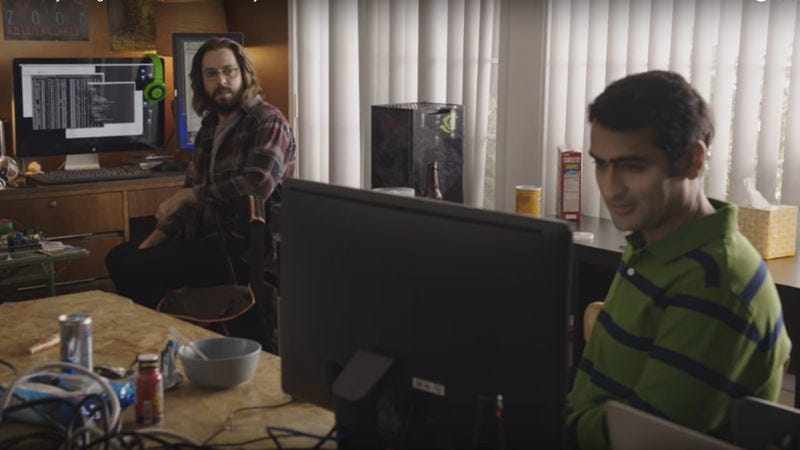 Screenshot: Silicon Valley Intro