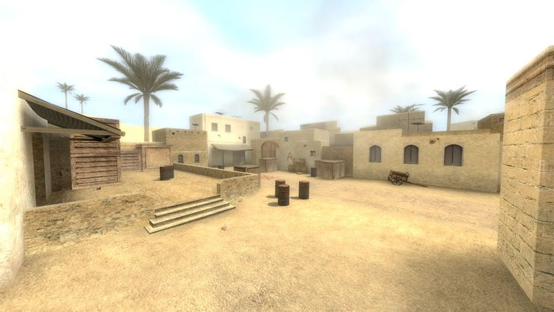 Illustration for article titled Artist Wants to Make a Life-Size Replica of Counter-Strike's 'Dust' for Us to Play In