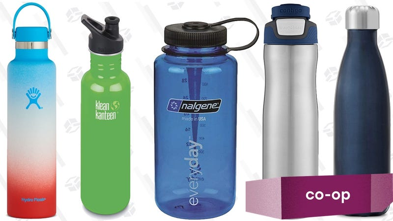 Illustration for article titled These Are Our Readers' Five Favorite Everyday Water Bottles