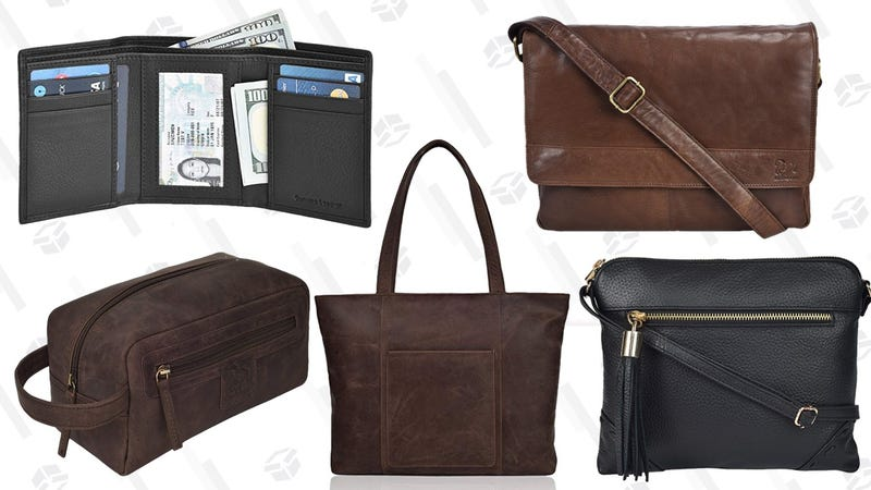 Amazon Leather Goods Sale | $55 or Less | Amazon