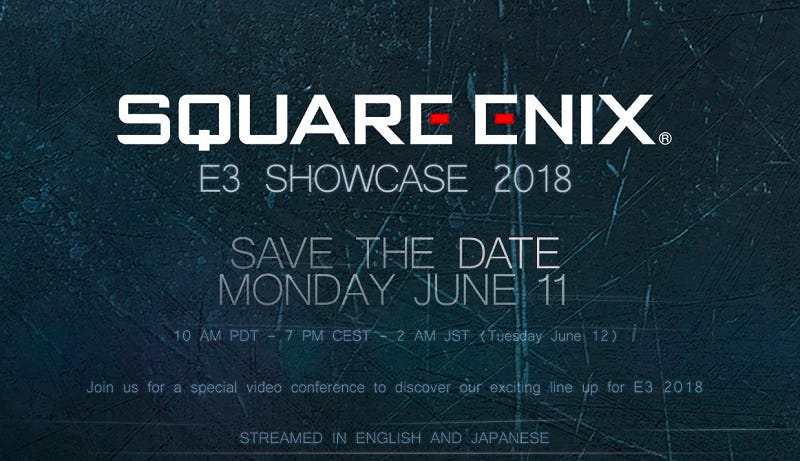 Illustration for article titled Square Enix Will Hold An E3 Conference This Year