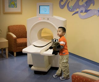 Illustration for article titled A CT Scanner Designed For Kids Makes the Procedure Seem Far Less Scary