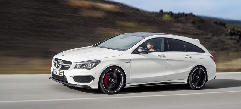 Illustration for article titled Yes, Yes, Yes: The Mercedes-Benz CLA45 AMG Wagon Is Here