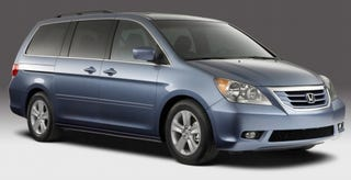 Illustration for article titled 2008 Honda Odyssey: A Freshening for the Family