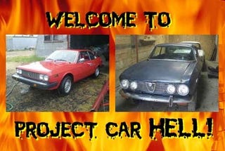 Illustration for article titled PCH, Italian Coupe For About A Grand Edition: Lancia Beta or Alfa Romeo GTV?