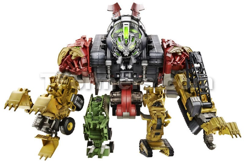 Transformers 2s Giant Robot Revealed