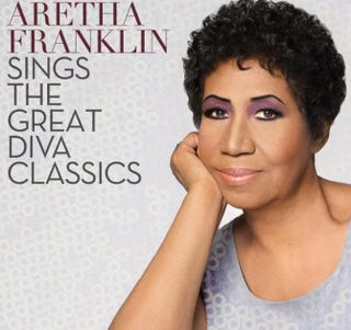Cover of Aretha Franklin's upcoming albumRCA Records
