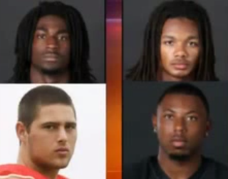 Clockwise from top left: Corey Batey; Brandon Banks; Jaborian McKenzie;Brandon VandenburgYouTube