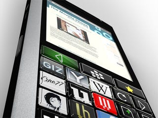 Illustration for article titled Blackberry + Optimus Maximum Concept Phone: What Do You Get?