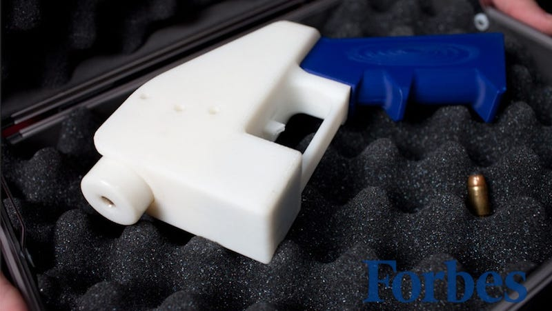 Illustration for article titled The World's First Entirely 3D Printed Gun
