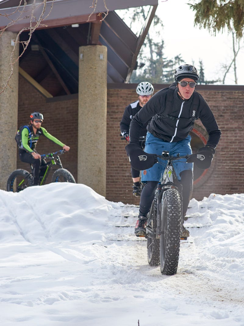 Illustration for article titled FATBIKES!  aka, I stumbled on a race today...