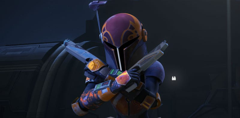 Illustration for article titled Sabine Wren Will Get An Expanded Role In Star Wars Rebels Season Three