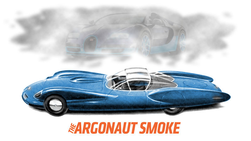 Illustration for article titled This Car Was Supposedly As Fast And Amazing As A Bugatti Veyron In 1959 For $36,000