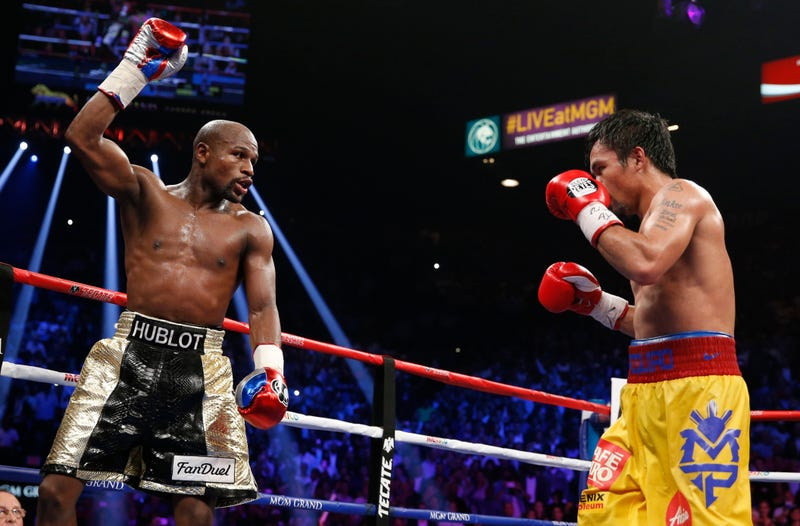 Illustration for article titled Report: Floyd Mayweather Received Banned IV Before Pacquiao Fight