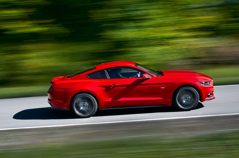 Illustration for article titled 2015 mustang ... The car built for the whiners