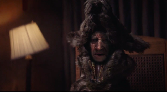 David Lynch plays a prophesying wolf elder in first video from Flying Lotus' Flamagra