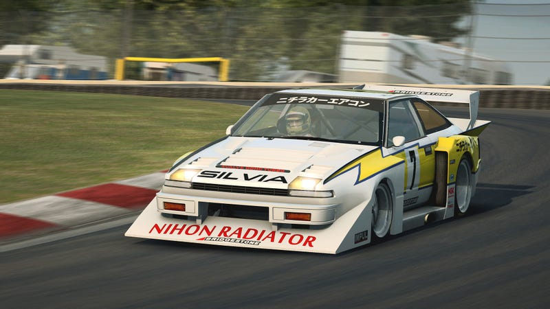 Illustration for article titled So this just in on RaceRoom