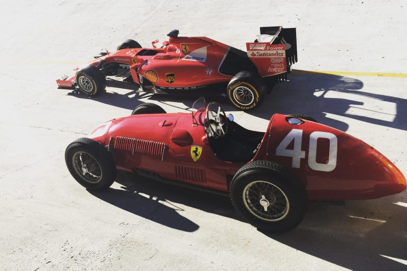 Illustration for article titled Your Ridiculously Awesome Ferrari Formula One Wallpaper Is Here