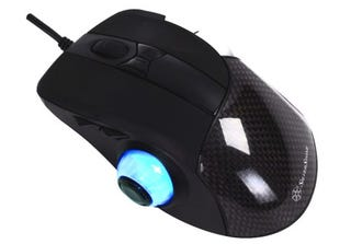 Illustration for article titled Silverstone Raven Gaming Mouse Has a Tumor on the Side, Can't Possibly Be Comfortable