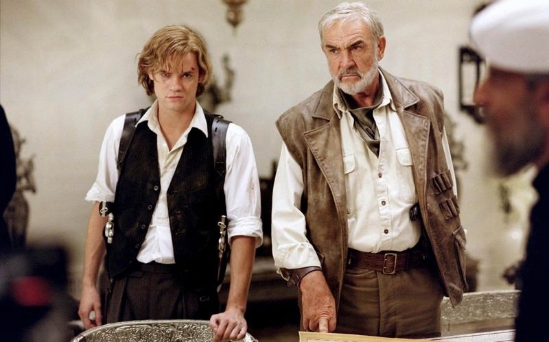 Shane West And Sean Connery Starred As Tom Sawyer Allan Quatermain In 2003s The League Of Extraordinary Gentlemen Adaptation Image YouTube