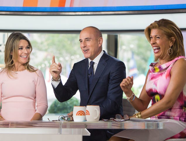 Matt Lauer Returns To Today Show Following 2-Day Suspension
