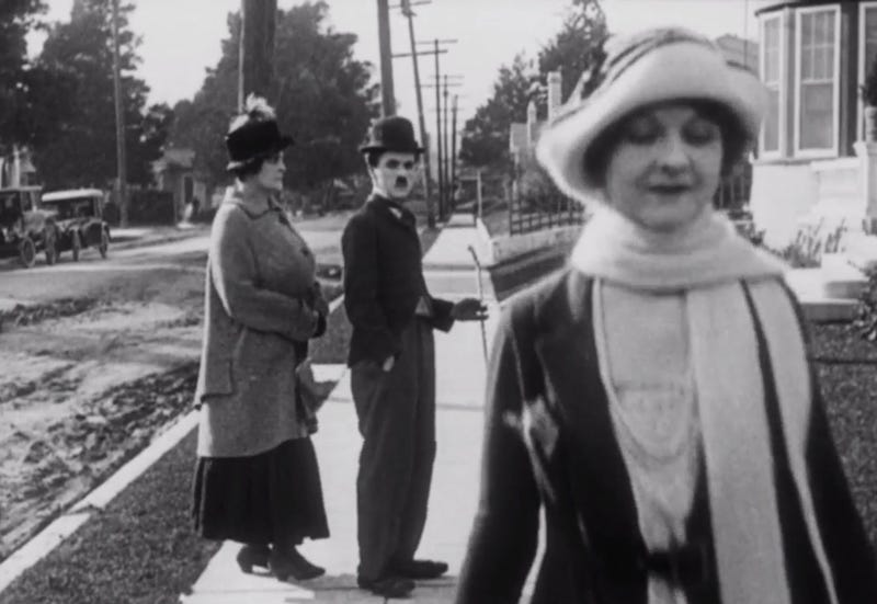 Charlie Chaplin in the 1922 short film Pay Day