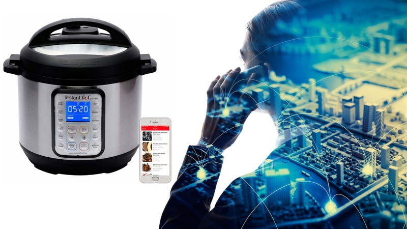 "Illustration for article titled New ""smart"" Instant Pot model connects to wifi, might become sentient"