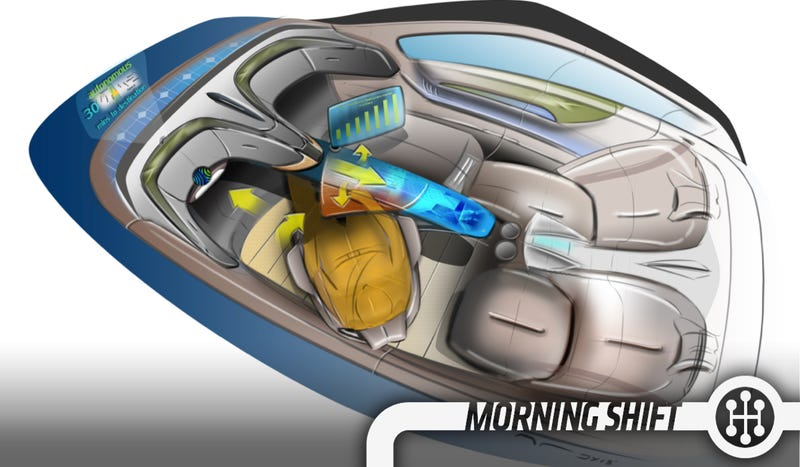 Illustration for article titled This Man Wants To Make The Steering Wheel Obsolete
