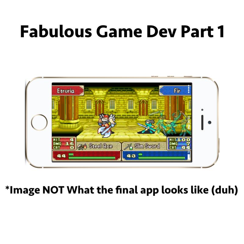 Illustration for article titled Fabulous Game Dev Blog 1!
